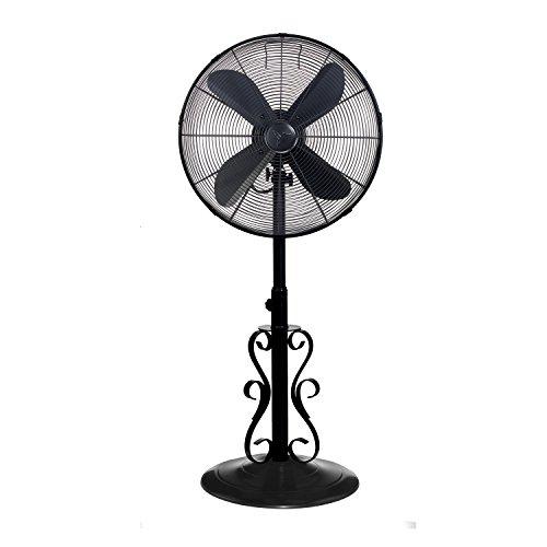 Designer Aire Oscillating Indoor/Outdoor Standing Floor Fan for...