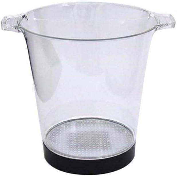 Beverage Washington Mall cooler LED Ice Bucket Tub Max 70% OFF Drink Cooler Wine Tu
