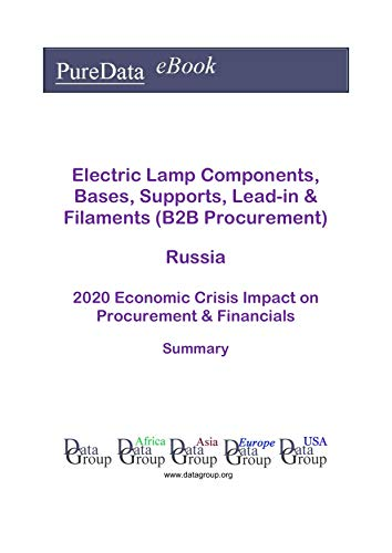 Electric Lamp Components, Bases, Supports, Lead-in & Filaments (B2B Procurement) Russia Summary: 2020 Economic Crisis Impact on Revenues & Financials (English Edition)