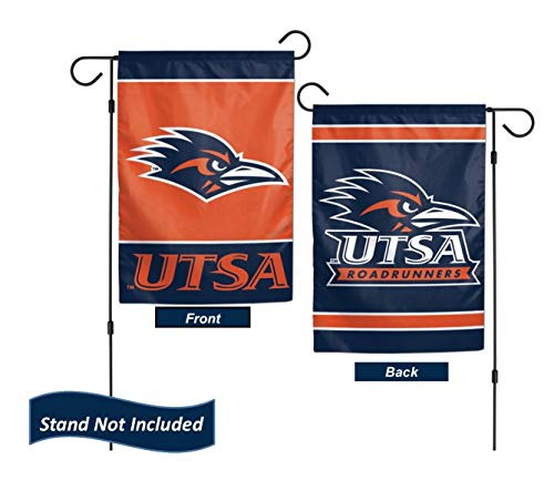 "UTSA Roadrunners 12.5"" x 18"" Double Sided Yard and Garden College Banner Flag is Printed in The USA,"