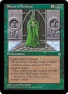 Ritual of Subdual (Magic the Gathering : Ice Age Rare)