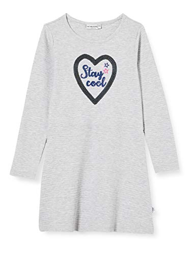 Salt & Pepper Mädchen 05113233 Kinderkleid, Light Grey Mel, 92/98