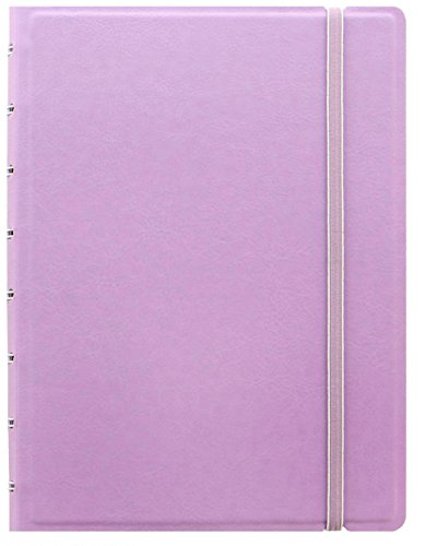 Filofax Refillable A5 Pastels Notebook - orchid