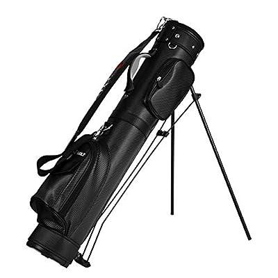 ZzheHou Golf-Trolley PU Golftasche