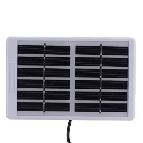 Módulo solar, cargador de panel solar Alta tasa de conversión fotoeléctrica Resistencia a la corrosión para iluminación del hogar para equipos de baja potencia
