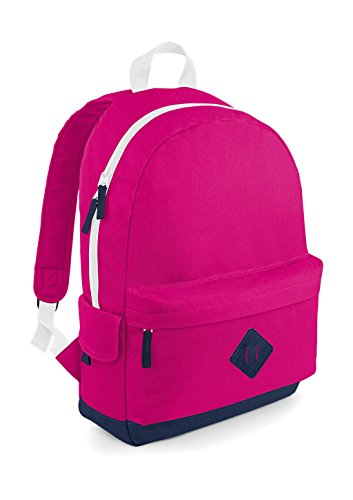 Heritage Backpack - Farbe: Fuchsia - Größe: 31 x 45 x 19 cm