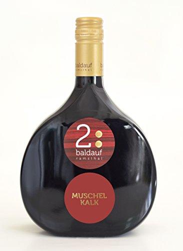 G&S 2017 Domina trocken 250ml (1x0.25l) - Frankenwein Rotwein im Mini - Bocksbeutel