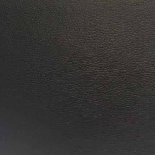 Tela por metros de polipiel para tapizar - Tapicería - Ancho 140 cm - Largo a elección de 50 en 50 cm | Negro