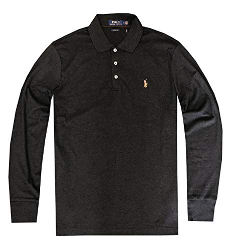 Polo Ralph Lauren Mens Classic Fit Soft Cotton Interlock Polo Shirt