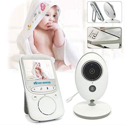 SWEET Moniteur pour Bébé avec Caméra Et Audio 2,4 HD Écran Caméra De Sécurité À Domicile Vidéo De 24 Heures Intégré HD Microphone Et Haut-Parleur Peuvent Éclairer 850ft
