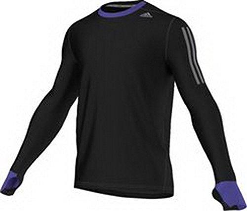adidas Performance–Running tee Shirt Supernova Longsleeve, Color Negro, tamaño Large