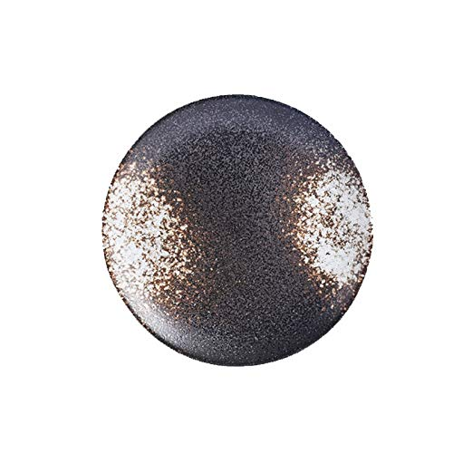 Platos de cerámica occidental redondos poco profundos, cubiertos para carne, pasta, restaurante, café, pasteles, plato, ensalada, pajita, vajilla (color: B, tamaño del plato: 15,24 cm)