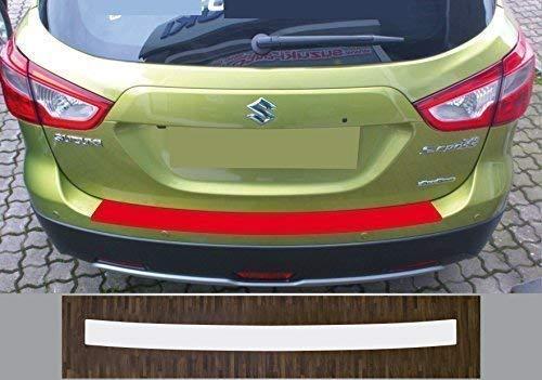 passgenau für Suzuki SX4 S-Cross, ab 2013, Lackschutzfolie Ladekantenschutz transparent