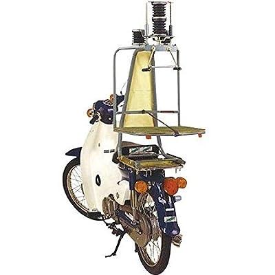 マルシン 出前機 2型 ジャイロキャノピー用取付台付き (寿司店・魚店・出前桶使用食堂用)GYRO CANOPY demaeki