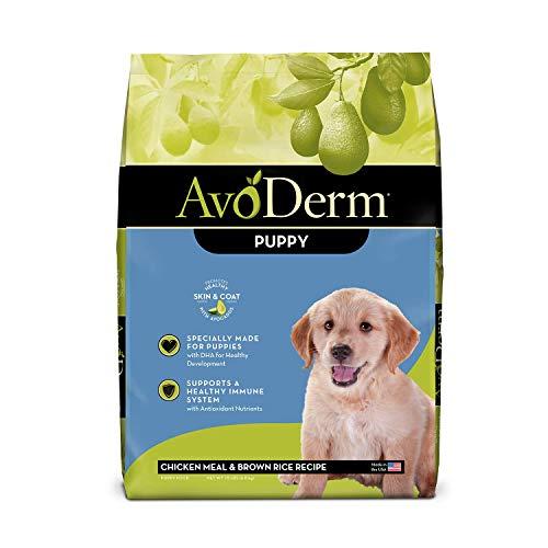 AvoDerm Natural Puppy Dry & Wet Dog Food, DHA For Brain & Eye Development, Chicken & Brown Rice Formula