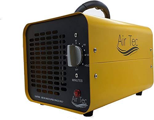 Air Tek 10.000 OGS - Generador de ozono, purificador de aire ozono con temporizador para habitaciones, hoteles, coches, mascotas, humo