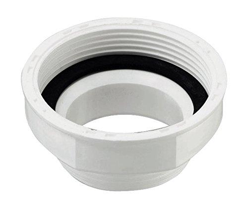 Sanitop-Wingenroth 22186 3 Reduzierstück für Kunststoff-Geruchsverschlüsse, 1 1/4 x 1 1/2 Zoll, weiß, 2 x 2