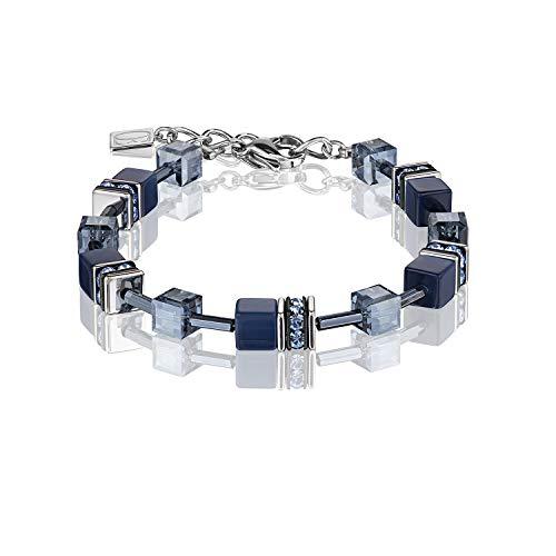 Coeur de Lion Vrouwen RVS Link Armband - 4322/30-0722