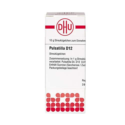 DHU Pulsatilla D12 Streukügelchen, 10 g Globuli