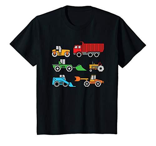Kinder Baufahrzeuge, Kipper, Traktor T-Shirt