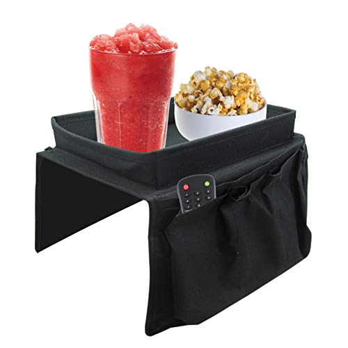 Sofa Chair Arm Rest 6 Pocket Organiser Couch Remote Control Storage Tray Holder Shopmonk by zizzi