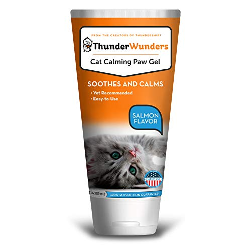 ThunderWunders Cat Calming Paw Gel | Vet Recommended to Help Reduce Situational Anxiety | Perfect for Vet Visits, Traveling, Visitors & More (3 oz)