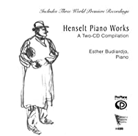 Henselt Piano Works World Premiere