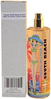 Passport South Beach Women Eau De Toilette Spray, Tester by Paris Hilton, 3.4 Ounce