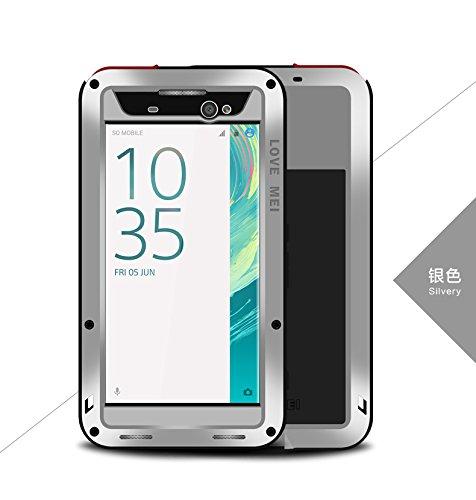 Carcasa para Sony Xperia XA Ultra Love Mei Armor, Resistente al Polvo, a la Nieve, de Aluminio, Resistente al Polvo, para Sony Xperia XA Ultra (6,0 Pulgadas)