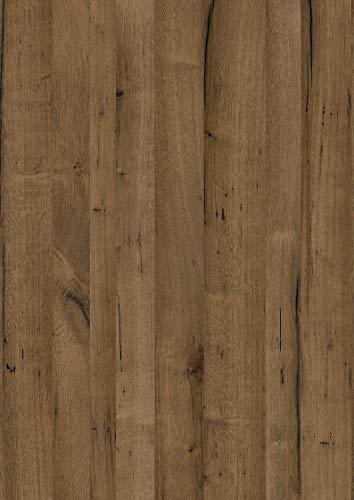 Schulte panneau mural décoratif Décodesign Décor, revêtement mural 3D pour douche, décor bois chêne, 100x255 cm