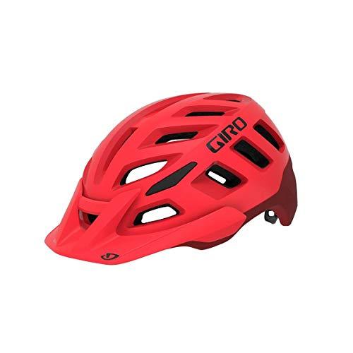 Giro Radix Casco de Bicicleta Dirt, Rojo Brillante Mate y Rojo Oscuro,...