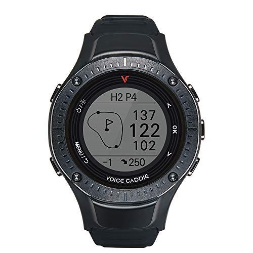 voice caddie(ボイスキャディ) ゴルフナビ ゴルフGPS 腕時計タイプ G3 距離測定器 ブラック