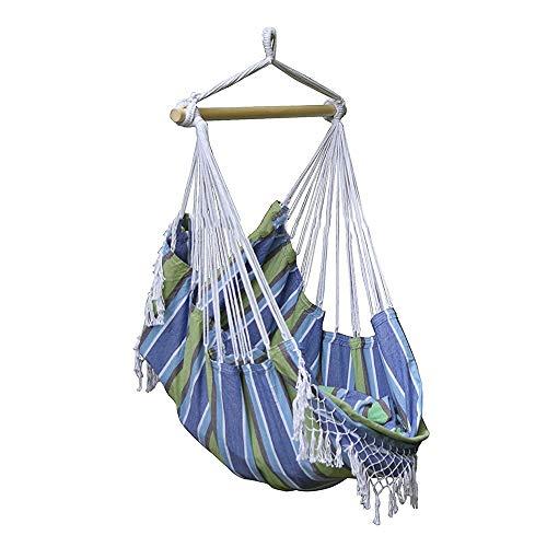 Hangende stoelen Hangende hangmat Swing ligstoel gemakkelijk op te hangen bijna overal kunt u uw tuin of balkon Swing Hangstoel
