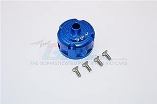 Thunder Tiger Truck K-ROCK MT4-G5 Brushless Upgrade Parts Aluminum Front/Rear Diff Case - 1 Set Blue