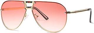 نظارات شمسية بايلوت شيدز العصرية مع حماية UV400 ومعدنية للرياضة القديمة، نظارات شمسية مناسبة للرجال والنساء في الهواء الطل...