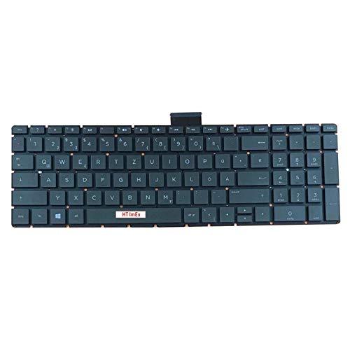 Deutsche Tastatur für HP Pavilion 17-g121ng, 15-cb070ng, 15-bc014ng, 17-ab440ng, 17-g197ng, 15-bc205ng, 15-ab034ng, 15-bc380ng