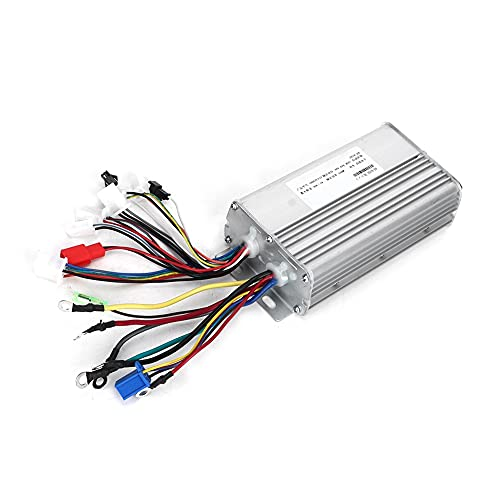 Changor Controlador sin escobillas Adecuado, 31A con aleación -20-50 ℃ 1 V a 4.2 V para Sensor de línea trifásico Scooter eléctrico de Bicicleta