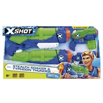 X Shot Tormenta Value Pack Candide Azul/Verde