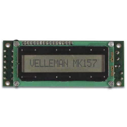 Velleman MK157 LCD Mini Nachrichtenboard