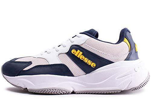 Ellesse Aurano, Zapatillas de Deporte para Hombre, Multicolor (Navy/White 000), 44.5 EU