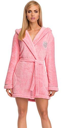 L&L Albornoz para Mujer Vicky Mini (Rosa, XL