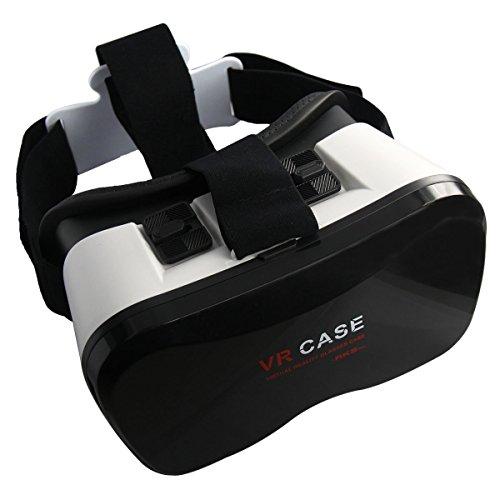 """OnO® VR Case 5Plus 3D Filme Brille 3D Spiel Gläser 3D VR Brillen Virtuelle Realität für 3.5-5.5\""""Zoll-Smartphone iPhone 6 6s 6 plus , Samsung Galaxy S5 S6 , Note 3 , Sony Xperia Z3 Z4 Z5 , LG G3 G4 , Nexus 5 6 , Oneplus , HTC One etc..."""