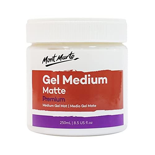 Mont Marte Medium Acrilico Mate – 250ml – Gel...