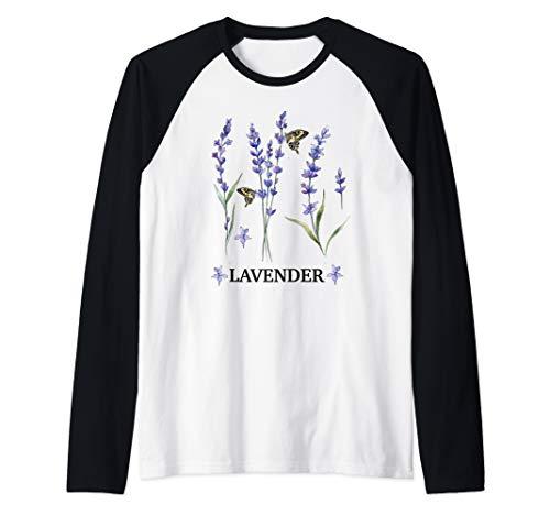 Lavender Lavendel mit Schmetterlinge...