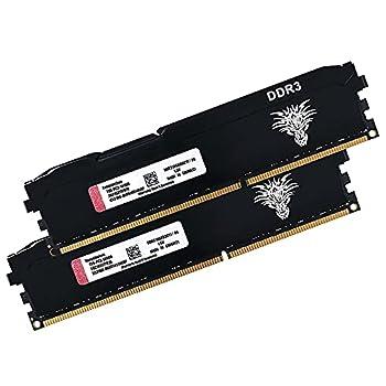 Yongxinsheng DDR3 8GBx2  16GB Kit  1866MHz Desktop Memory  PC3-14900  CL11 240Pin 1.5V Non-ECC Unbuffered UDIMM RAM