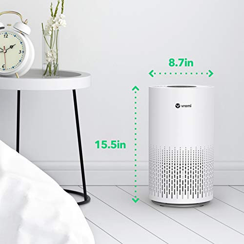 Vremi Premium Large Room Air Purifier with True HEPA H13 Filter - Purifies Air in Spaces up to 217.5 Square Feet