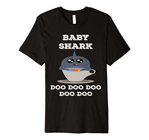 Baby Shark Doo Doo Hai Geschenk Weißer Hai Geschenkidee