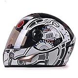 Casco de moto aprobado por ECE Casco de competición Carace completo Capacete de motocicleta Casco de moto Casco de moto Casco de cara completa Moto Capacete