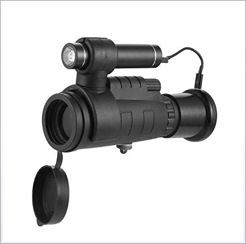 DJG HD Nachtsicht Infrarot Nachtsichtgerät 200M Visier Abnehmbare Kombination Geeignet Für Nachtsicht Im Freien Jagd Schwarz