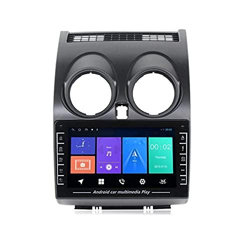 ADMLZQQ Autoradio-Stereo für Nissan Qashqai J10 2006-2013 in Dash GPS Navigator Unterstützung USB Bluetooth FM Stereo WiFi Lenkradkontrolle Rückfahrkamera,WiFi:1+16G